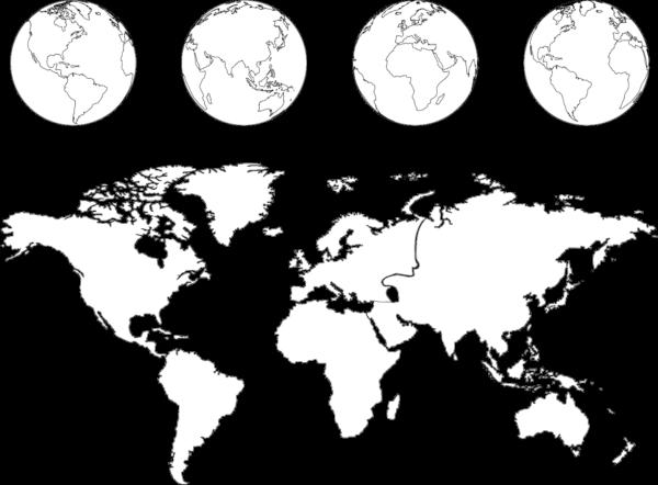 世界地図 国名入りや白地図のダウンロードchotto About